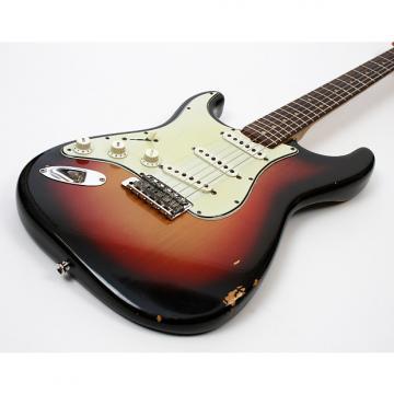 Custom Fender Stratocaster 1964 Sunburst Lefty Left Handed w/OHSC and Case Candy 100% Original