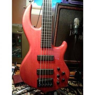 Custom Conklin GT-5 Fretless w/ Bartolini Crimson Trans Red