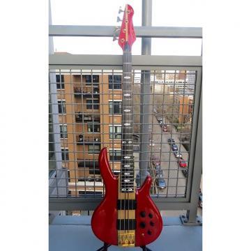 Custom Peavey Rudy Sarzo Model Bass 1989 Red