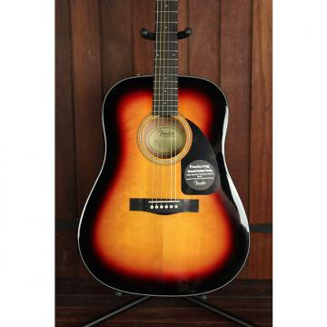 Custom Fender CD-60 Dreadnought Acoustic Guitar Sunburst