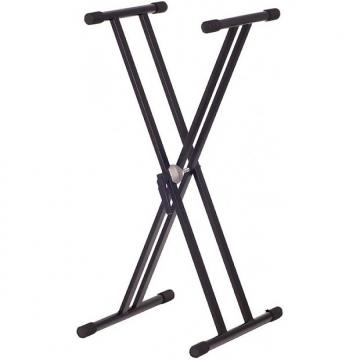 Custom Xtreme X-Style Double Braced Flat-97cm Keyboard Stand
