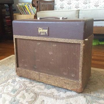Custom AS-IS Rare Vintage Gibson GA-20t 1950s Two-tone Guitar Amplifier 1x12