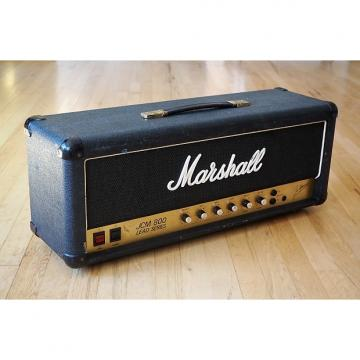 Custom 1982 Marshall JCM800 Model 2204 Vintage Tube Amp Head UK Vertical Input JMP