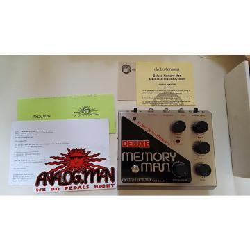 Custom Electro-Harmonix Analogman modded Deluxe Memory Man