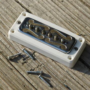 Custom 1966 DeArmond Gold Foil Pickup w/Ring #1