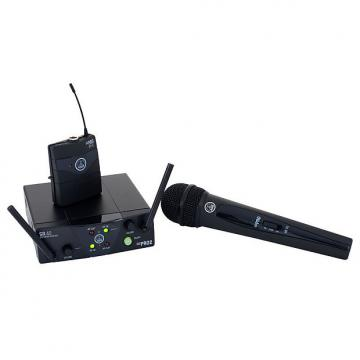 Custom AKG WMS40 Mini Dual Vocal/Instrumental Wireless Set