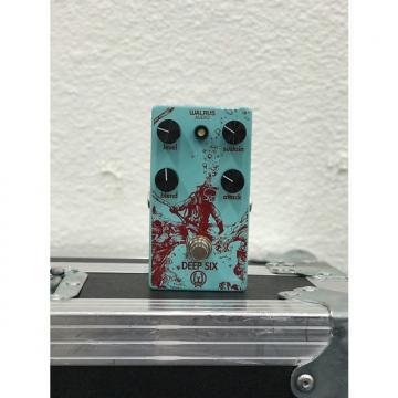 Custom Walrus Audio Deep Six 2017 Seafoam w/ Red Ink