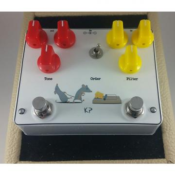 Custom kirshman pedals Crunchy Rat (Crunch box & Rat Clones)