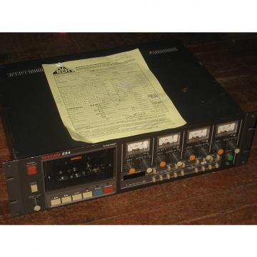 Custom Tascam 234 Syncaset w/90 Day Warranty, 4 Track Analog Cassette Recorder, MIJapan TEAC dbx