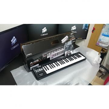 Custom Roland A49 MIDI Controller Keyboard Black