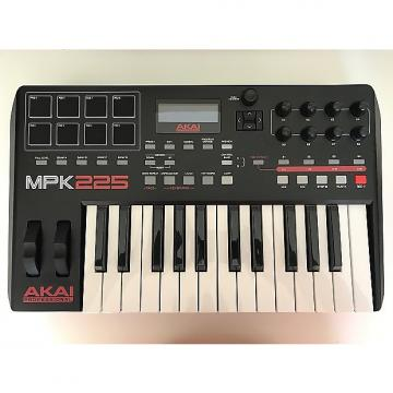 Custom Akai MPK225 2017 Red/Black/White, w/M-Audio SP2 Sustain Pedal incl.