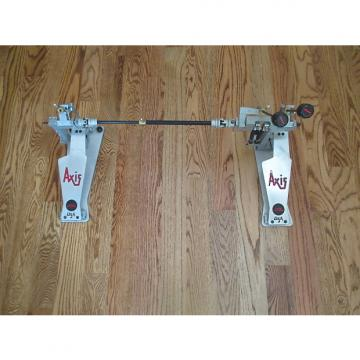 Custom Axis Long Boards Direct Drive Double Bass Drum Pedals, Excellent Condition!