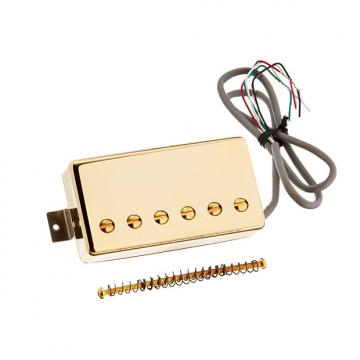 Custom Gibson Hot Alnico Bridge Gold Cover