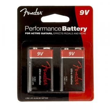 Custom Fender Performance 9V Battery Two Pack - Default title