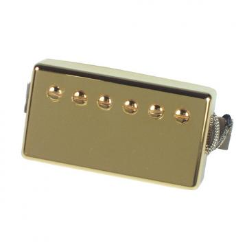Custom Gibson Burstbucker Pro Pickup - Gold Neck 2-Conductor
