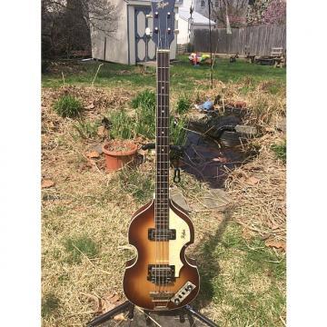 Custom Hofner 500/1 Violin Bass 1969/70 Brown Sunburst