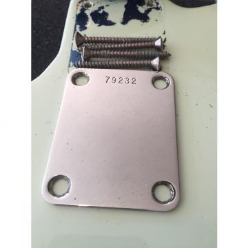 Custom Fender 1962 Jazz Precision J P Bass Neck Plate Serial number w Screws PRE CBS 1962 Original