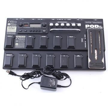 Custom Line 6 Pod XT Live Multi-Effects Pedal & Power Supply PD-4000