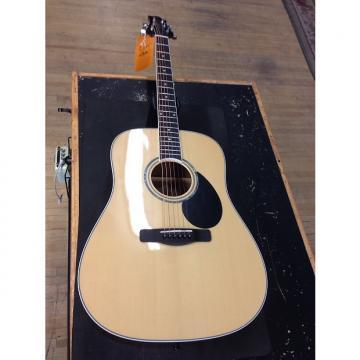 Custom Greg Bennett Samick Acoustic  Natural