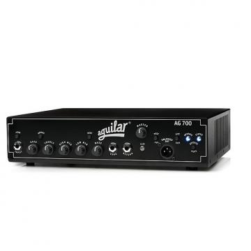 Custom Aguilar AG-700 700W Bass Guitar Solid State Single Channel Amplifier Amp Head