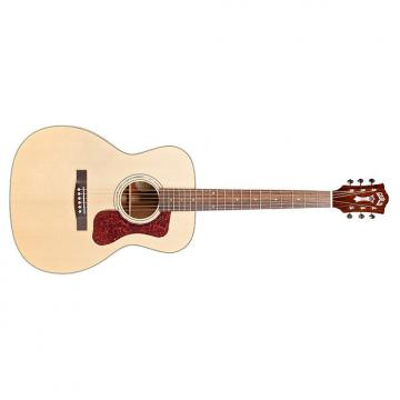 Custom Guild OM-140 Westerly Orchestra Spruce Mahogany Acoustic Guitar Natural + Case