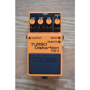 Custom Boss DS-2 Turbo Distortion MIJ 1988 Orange