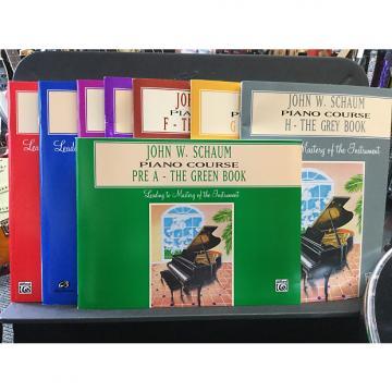 Custom John W. Schaum Piano Course - Pre-A The Green Book