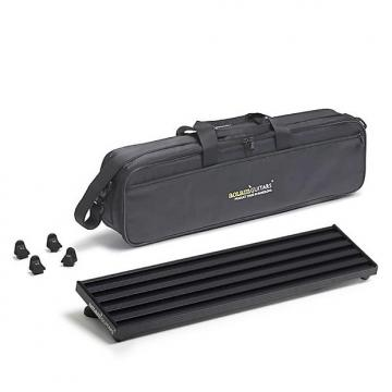 Custom Aclam Smart Track Pedal Board S1 with Soft Travel Case