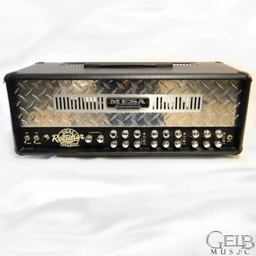 Custom Used 2006 Mesa Boogie Dual Rectifier Solo 100W Tube Guitar Amp Head W/ Foot Switch - DRSH-100