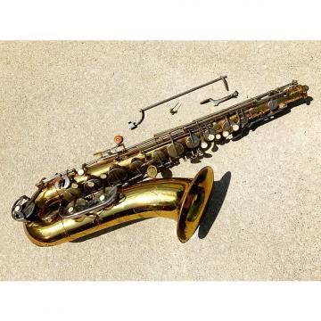 Custom Evette Schaeffer Tenor Saxophone for parts or repair vintage sax France Buffet Paris