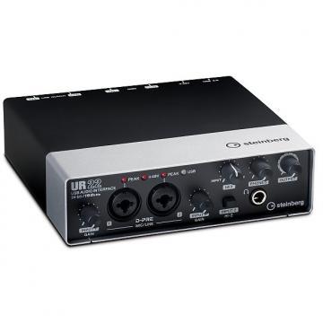 Custom Steinberg UR 22 USB Audio Interface 24-bit 192kHz Black