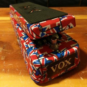 Custom Vox V847-AUJ Union Jack Wah Pedal FREE SHIPPING