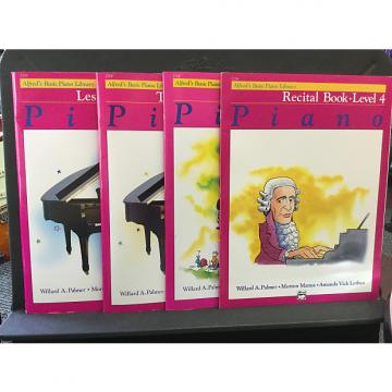 Custom Alfred's Basic Piano Library Level 4 - Lesson
