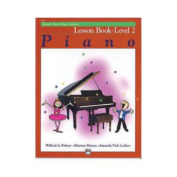 Custom Alfred's Basic Piano Library Level 2 - Lesson