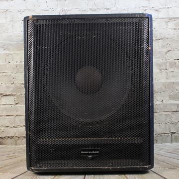 Custom American Audio PSW-15P Subwoofer