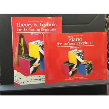 Custom Bastien Piano For the Young Beginner Primer Level - Theory & Technic A