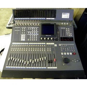 Custom Tascam digital mixer TM-D4000 2010's gray powdercoat