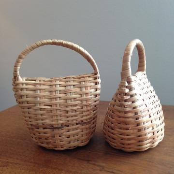 Custom Basket Rattle, Handmade in Cameroon