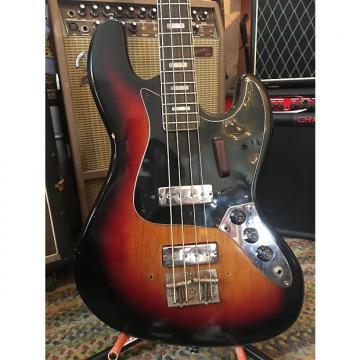 Custom Kent Short Style Jazz Style Bass Lawsuit 1960s 3 Tone Sunburst