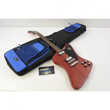 Custom 2012 Gibson Firebird Studio '70s Tribute Guitar - Satin Cherry w/Gig Bag