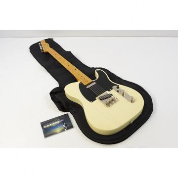 Custom Squire Classic Vibe '50s Telecaster Electric Guitar - Vintage Blonde w/Gig Bag