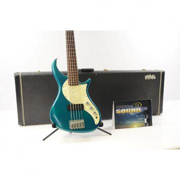 Custom 1995 Pedulla Rapture RB-5 Electric Bass - Green w/OHSC - Bartolini PU