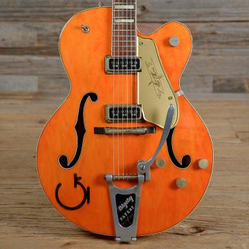 Custom Gretsch 6120 Chet Atkins Hollowbody Transparent Orange 1956 (s820)