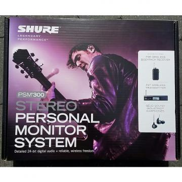 Custom SHURE PSM 300 Stereo Personal Monitor System BRAND NEW!!!!