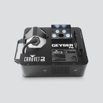Custom Chauvet Geyser P6 - 6-LED Penta-color Lighting and Fog Effects Fixture