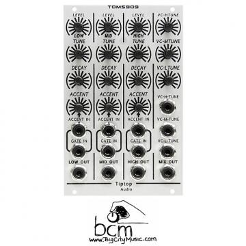 Custom Tiptop Audio Toms909 TR-909 Eurorack Drum Module