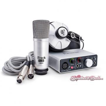 Custom Focusrite iTrack Studio Lightning - Audio Interface Recording Bundle iOS Mac PC