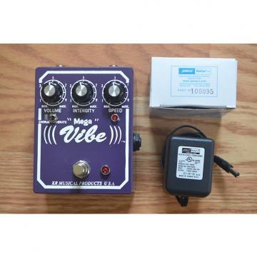 Custom KR Musical Products Small Mega Vibe w/ AC Adapter 2016 Purple