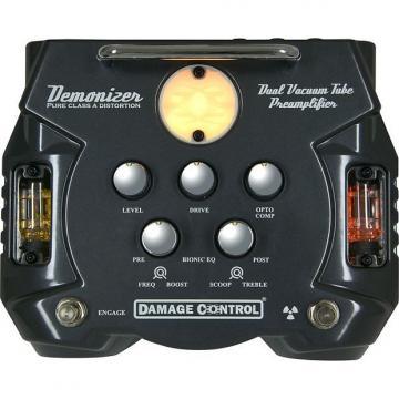 Custom Damage Control Demonizer Tube Distortion Preamp Pedal