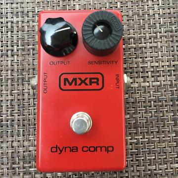 "Custom MXR Dyna Comp Block Logo 77-80""s"